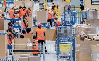 Οι εργαζόμενοι πλήρους απασχόλησης της Amazon στις ΗΠΑ από την 1η έως την 31η Δεκεμβρίου θα λάβουν 300 δολάρια, ενώ 150 δολάρια θα εισπράξουν οι μερικώς απασχολούμενοι.