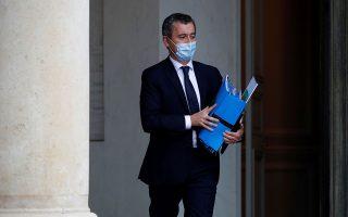 Ο υπουργός Εσωτερικών της Γαλλίας, Ζεράρ Νταρμανέν. Φωτ. REUTERS