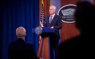 Ο νέος Αμερικανός υπουργός Άμυνας Κρίστοφερ Μίλερ (Φωτ.: ABC News)