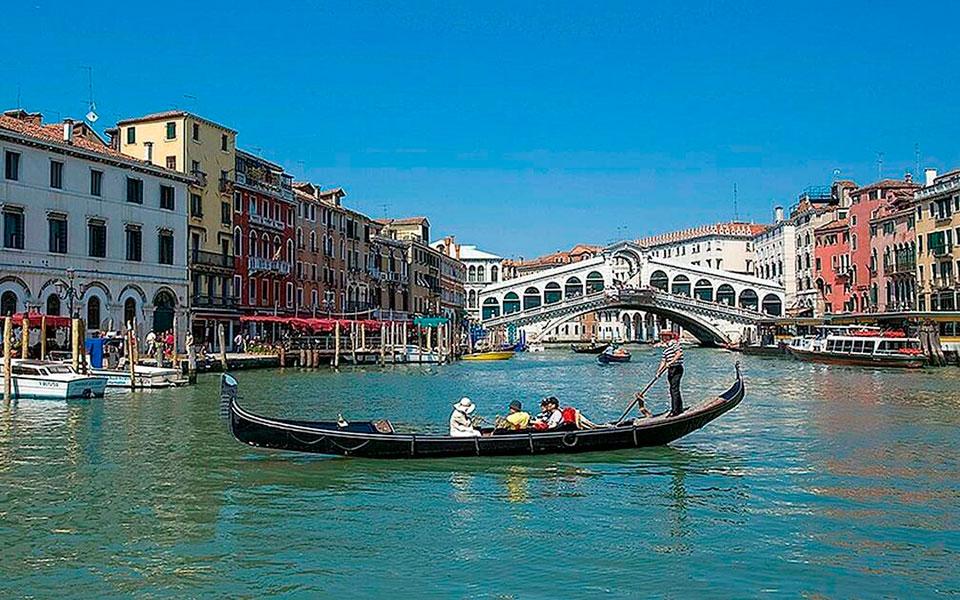 Η λιμνοθάλασσα της Βενετίας.