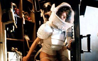 H Sigourney Weaver στην ταινία Alien (1979). © Alamy/Visualphotos.gr