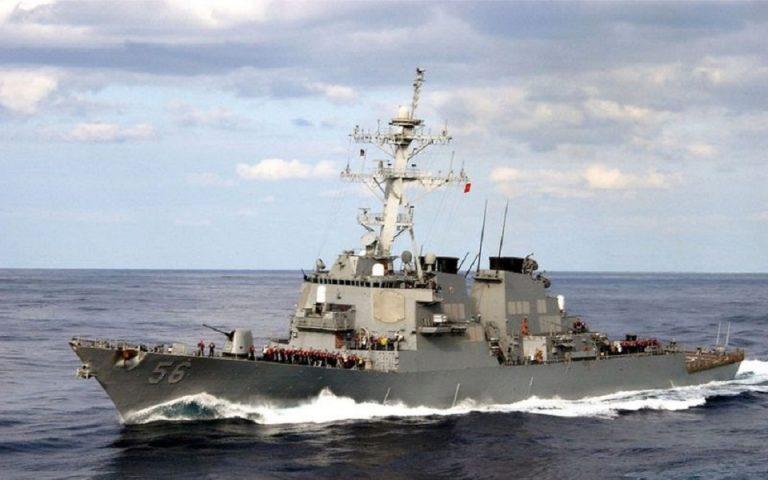 Ρωσικό πλοίο απείλησε να διεμβολήσει αμερικανικό στον Ειρηνικό