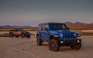 2021 Jeep® Wrangler Rubicon 392 and Jeep® Wrangler Rubicon 392 with Jeep PerformanceParts
