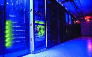 Το data center στην Κνωσό, σε χώρο του Πανεπιστημίου Κρήτης, φιλοξενεί τα δεδομένα του Copernicus της Ευρωπαϊκής Υπηρεσίας Διαστήματος και κομβικά δεδομένα 100 νοσοκομείων της χώρας.
