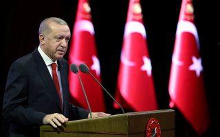 Ο Τούρκος πρόεδρος, αλλάζοντας άρδην ρητορική, εξήγγειλε μεγάλης κλίμακας μεταρρυθμίσεις στη Δικαιοσύνη και στο πεδίο των ανθρωπίνων δικαιωμάτων, ενώ υποσχέθηκε δέσμη δημοκρατικών μέτρων. Ελάχιστοι τον πιστεύουν. Φωτ. REUTERS
