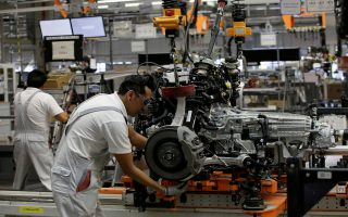 Εντυπωσιακή αύξηση των παραγγελιών στα γερμανικά εργοστάσια.  Φωτ. Reuters
