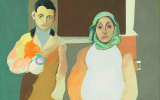 «Ο καλλιτέχνης και η μητέρα του», το έργο που ο Αρσίλ Γκόρκι δούλευε από το 1926 έως το 1942. Ουσιαστικά εγκατέλειψε συνειδητά τον πίνακα.