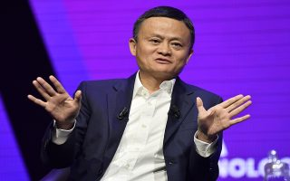 epa08430631 (FILE) - Jack Ma, Executive chairman and co-founder of Alibaba Group at the Vivatech startups and innovation fair, in Paris, France, 16 May 2019 (reissued 18 May 2020) Reports on 18 May 2020 state Jack Ma has resigned from Japanese SoftBank's board. SoftBank on 18 May 2020 said its Vision Fund had suffered a 18 billion USD loss.  EPA/JULIEN DE ROSA *** Local Caption *** 55197041