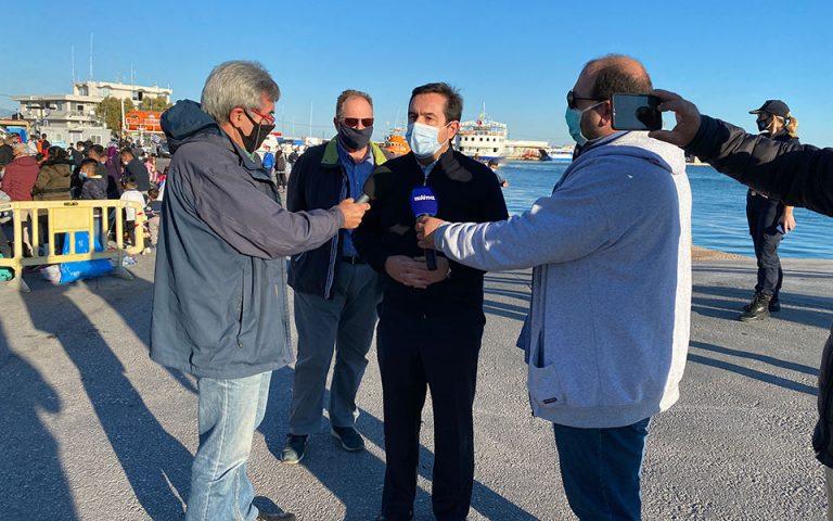 Ν. Μηταράκης: Η δομή στο Μαυροβούνι δεν θυμίζει σε τίποτε τη Μόρια