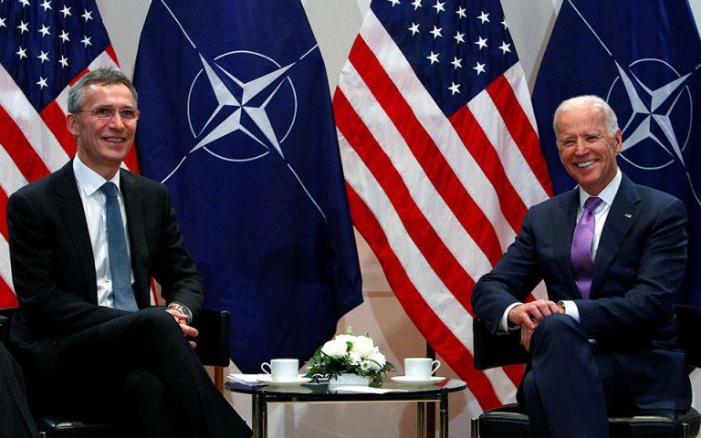 Γ. Στόλτενμπεργκ: Σύνοδος ΝΑΤΟ παρουσία Μπάιντεν, όταν αναλάβει τα καθήκοντά του