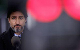O Καναδός πρωθυπουργός Τζ. Τριντό (φωτ.REUTERS/Blair Gable).