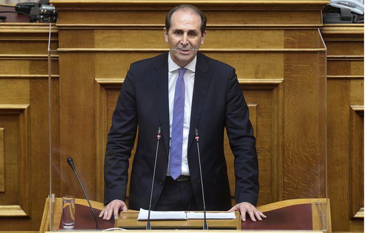 Απ. Βεσυρόπουλος: Προϋπολογισμός δίχως αυξήσεις και νέους φόρους