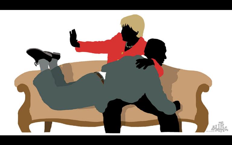 Σκίτσο του Δημήτρη Χαντζόπουλου (11/12/20)