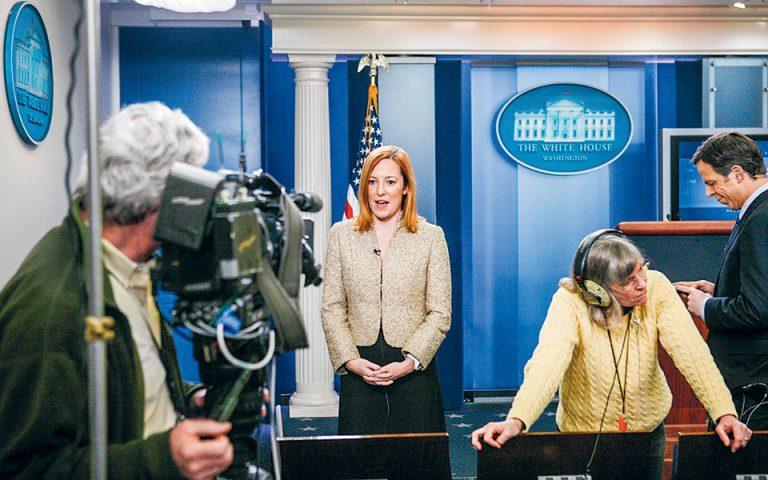 Η ελληνική «φωνή» του Μπάιντεν από τον Λευκό Οίκο