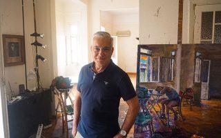 Ο αγαπημένος συνάδελφος Νίκος Βατόπουλος.