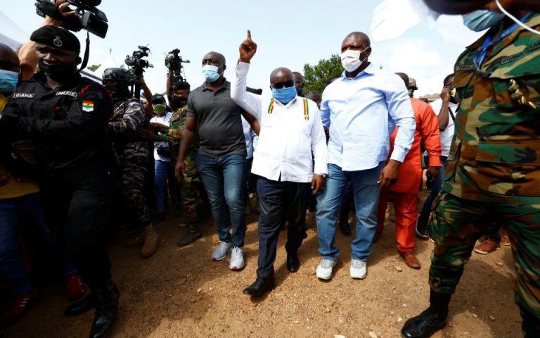 Γκάνα: Επανεκλογή του Νάνα Ακούφο-Άντο στην προεδρία