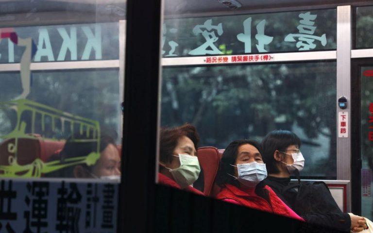Ταϊβάν: Πρώτο εγχώριο κρούσμα εδώ και οκτώ μήνες