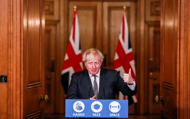 H Βρετανία θα παραμείνει εξωστρεφής διαβεβαιώνει ο Τζόνσον