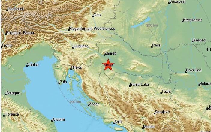 Σεισμός 5,2 Ρίχτερ στην Κροατία