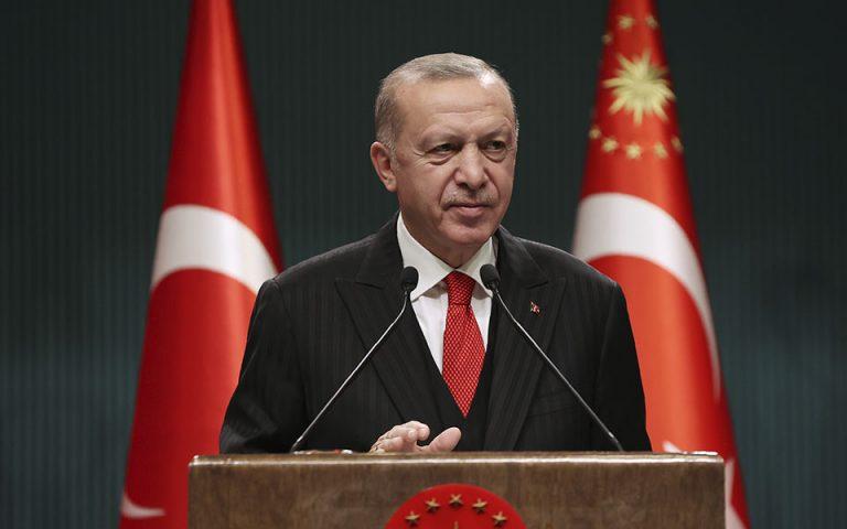 Ερντογάν: Ο Μητσοτάκης αποφεύγει το τραπέζι των διαπραγματεύσεων