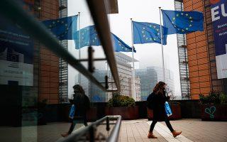 Παρά τις εντατικές διαπραγματεύσεις του τελευταίου τριημέρου, οι ουσιώδεις διαφορές μεταξύ του Ηνωμένου Βασιλείου και της Ευρωπαϊκής Ενωσης παρέμεναν έως χθες σε μεγάλο βαθμό αγεφύρωτες (φωτ. A.P. / Francisco Seco).