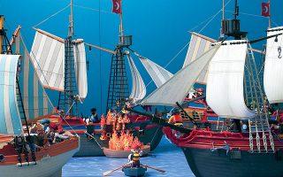Μια διαφορετική έκθεση, με τίτλο «Η Ελληνική Επανάσταση με φιγούρες και διοράματα Playmobil», προσφέρει το Πολιτιστικό Ιδρυμα Ομίλου Πειραιώς.