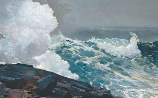 «Northeaster», ελαιογραφία του Αμερικανού ζωγράφου Ουίνσλοου Χόμερ (1836-1910). Ο τίτλος προέρχεται από την ονομασία που δίνουν οι κάτοικοι του παραθαλάσσιου Μέιν σε μια ιδιαιτέρως σφοδρή καταιγίδα. Το έργο ανήκει στις συλλογές του Μητροπολιτικού Μουσείου της Νέας Υόρκης.