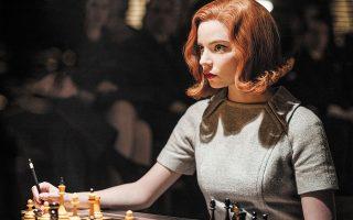 Η Ανια Τέιλορ-Τζόι ερμηνεύει ιδανικά τον κεντρικό ρόλο στη σειρά «Το γκαμπί της βασίλισσας» που κατέρριψε το ρεκόρ τηλεθέασης, στο Netflix.