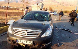 H δολοφονία του Μοχσέν Φαχριζαντέχ, «πατέρα» του πυρηνικού προγράμματος του Ιράν, έγινε με μια επιχείρηση που έφερε την «υπογραφή» του Ισραήλ. (Φωτ. EPA / IRIB)