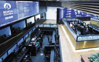 Για την επιστροφή των επενδυτών στάθηκε καθοριστική η απόφαση της κεντρικής τράπεζας της Τουρκίας να αυξήσει τα επιτόκια της λίρας στο 15%.