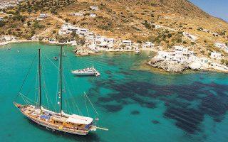 Στη λίστα της Europa Nostra μπήκαν πέντε νησιά του Νοτίου Αιγαίου: η Αμοργός, η Κίμωλος (φωτ. INTIME NEWS), η Σίκινος, η Τήνος και τα Κύθηρα.