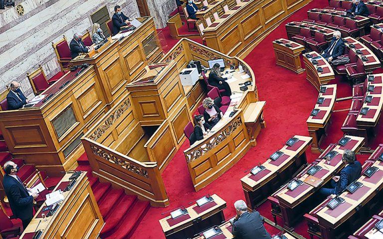 Μετωπική για όλα στη Βουλή