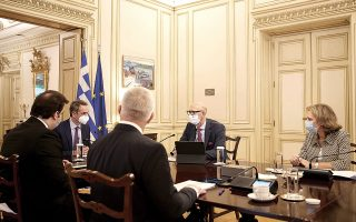 Η πρώτη βιντεοκλήση 5G στην Ελλάδα πραγματοποιήθηκε κατά τη χθεσινή συνάντηση του πρωθυπουργού Κυριάκου Μητσοτάκη και του υπουργού Ψηφιακής Διακυβέρνησης Κυριάκου Πιερρακάκη με τον διευθύνοντα σύμβουλο της Deutsche Telekom Τιμ Χότγκας, την επικεφαλής της Deutsche Telekom για την Ευρώπη Ντομινίκ Λερουά και τον πρόεδρο και διευθύνοντα σύμβουλο του ΟΤΕ Μιχάλη Τσαμάζ.