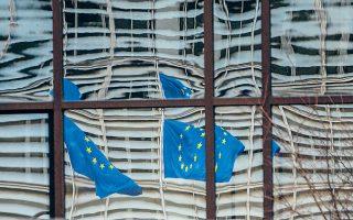 Οι αποφάσεις του Ευρωπαϊκού Συμβουλίου της 10/11 Δεκεμβρίου 2020 επιβάλλουν στην Επιτροπή να ασκήσει συγκεκριμένη αρμοδιότητα, την έκδοση κατευθυντηρίων γραμμών, προσδιορίζοντας σε μεγάλο βαθμό το περιεχόμενό τους, αποδίδουν δεσμευτικό χαρακτήρα στις εν λόγω «γραμμές» και τις καθιστούν προϋπόθεση για την εφαρμογή του υπό ψήφιση κανονισμού (φωτ. Α.Ρ.).