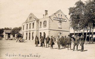 Ανδρες της Στρατιάς Μικράς Ασίας στο Αφιόν Καραχισάρ. Στο βιβλίο του «1922. Πώς φτάσαμε στην Καταστροφή» ο Κ. Σταματόπουλος τονίζει πως και ο Βενιζέλος σκεφτόταν σοβαρά την προοπτική της επέκτασης της εκστρατείας ανατολικά (φωτ. ΕΘΝΙΚΟ ΙΣΤΟΡΙΚΟ ΜΟΥΣΕΙΟ).