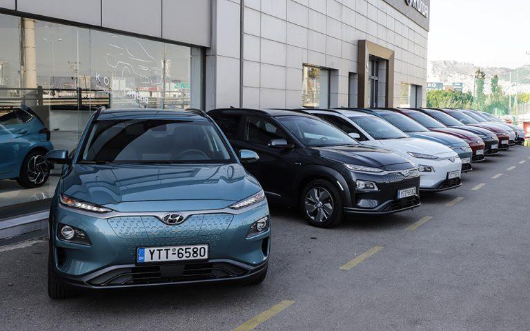 14 νέα Hyundai Kona Electric για τον ΑΔΜΗΕ