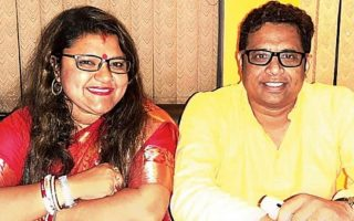 Το ζεύγος των Ινδών πολιτικών πριν το διαζύγιο. (Φωτ.: BangalXP)