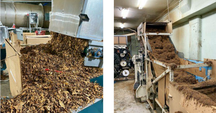 Tα μέλη της σπείρας, μέσω εταιρειών-σφραγίδων, μίσθωναν αποθηκευτικούς χώρους στον νομό Αττικής και αλλού. Εκεί είχαν εγκαταστήσει μηχανήματα με τα οποία επεξεργάζονταν τον χύμα καπνό και παρασκεύαζαν τα λαθραία τσιγάρα πριν τα εξάγουν.