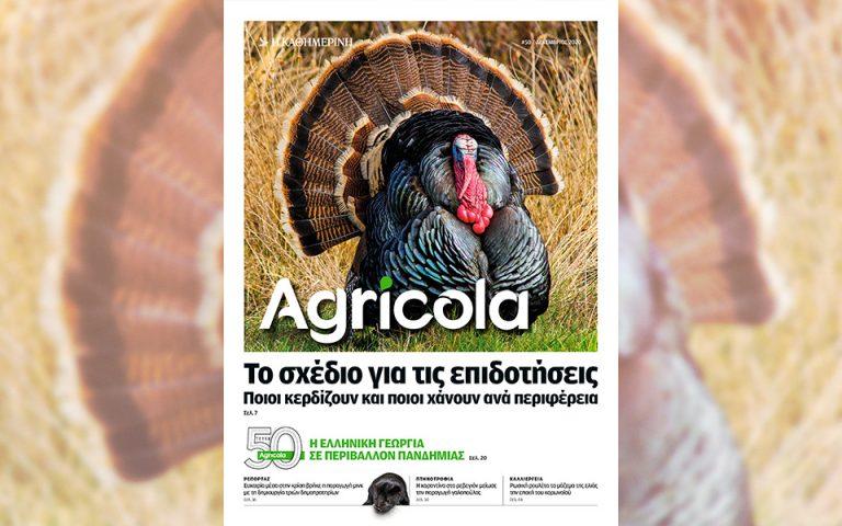 Η ελληνική γεωργία σε περιβάλλον πανδημίας