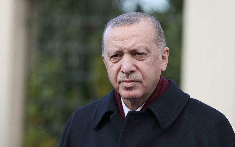 Ερντογάν: Η Τουρκία ελπίζει να ανοίξει «νέα σελίδα» με την Ε.Ε.