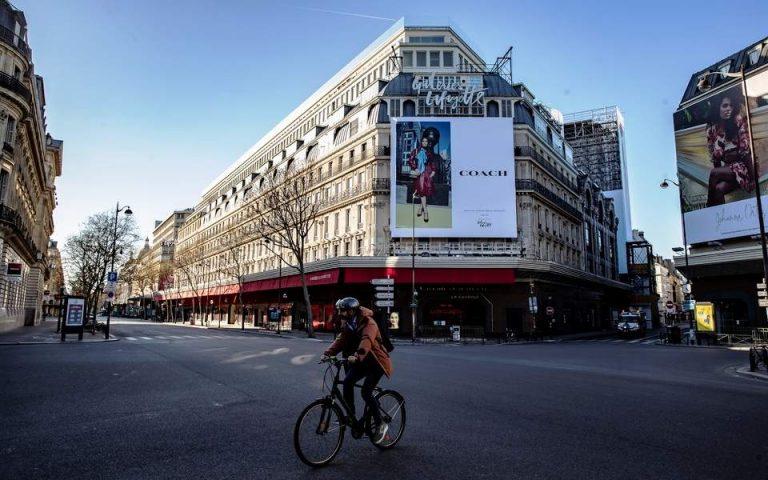 Γαλλία: Η υγειονομική κατάσταση βελτιώνεται – Σε ισχύ το lockdown
