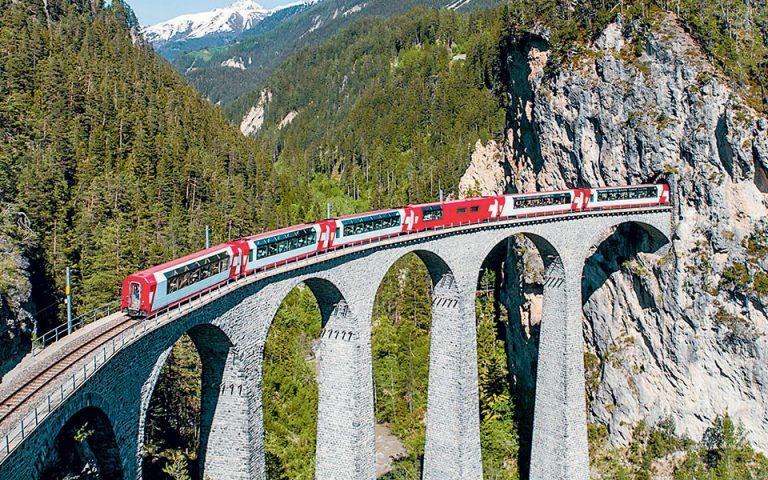 Αυξάνεται η ζήτηση για ταξίδια με τρένα