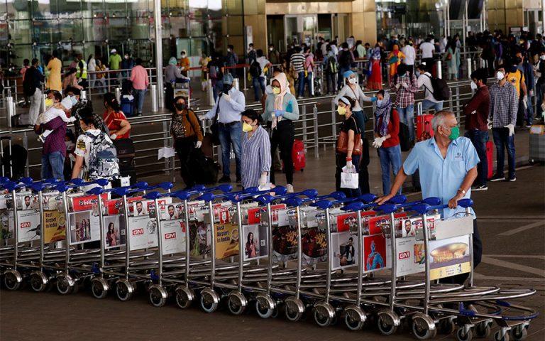 Ινδία: Αναστολή όλων των πτήσεων από Βρετανία ως το τέλος του έτους