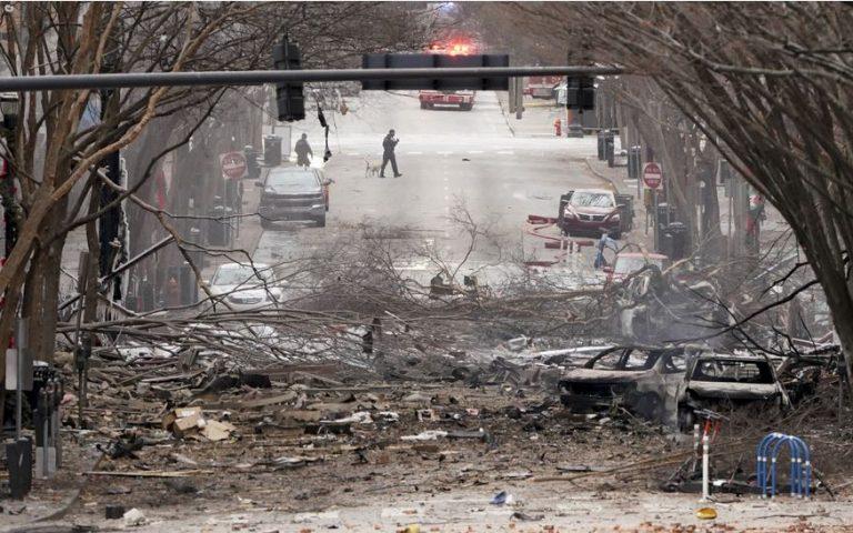 Οι έρευνες του FBI για την έκρηξη στο Νάσβιλ