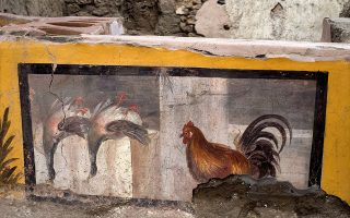 Pompeii Archaeological Park/Ministry of Cultural Heritage and Activities and Tourism/Luigi Spina/Handout via REUTERS