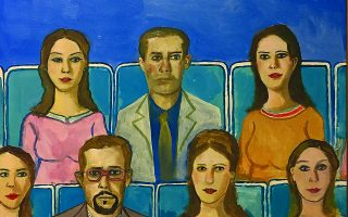 Εδουάρδος Σακαγιάν, «Θεατές» (2008).
