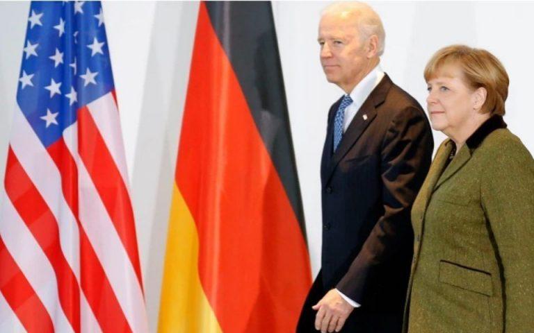 Νέα σελίδα στις αμερικανογερμανικές σχέσεις – Πρόσκληση Μέρκελ στον Μπάιντεν