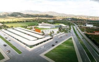 Το νέο Κέντρο Εφαρμοσμένης Βιοϊατρικής Έρευνας και Εκπαίδευσης στα Σπάτα αναμένεται να  ολοκληρωθεί  έως τις αρχές του 2023.