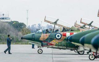 Στη συμφωνία με την κυβέρνηση του Ισραήλ προβλέπεται και η αντικατάσταση των T-2 Buckeye (φωτ.) της Πολεμικής Αεροπορίας