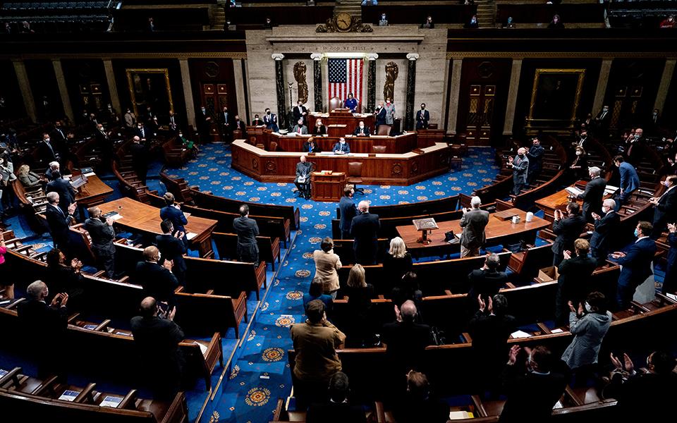 Γερουσία: Άμεση απομάκρυνση Τραμπ ζητά ο επικεφαλής των Δημοκρατικών